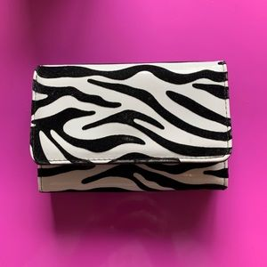 Handbags - Zebra Print Wallet